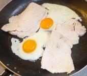 Recette de poulet aux œufs