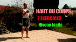 7 exercices de musculation sans matériel du haut du corps