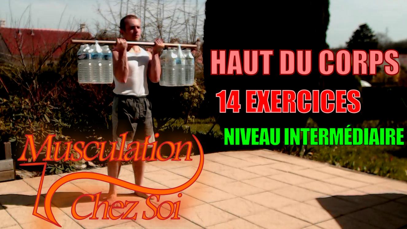 14 exercices de musculation sans matériel du haut du corps