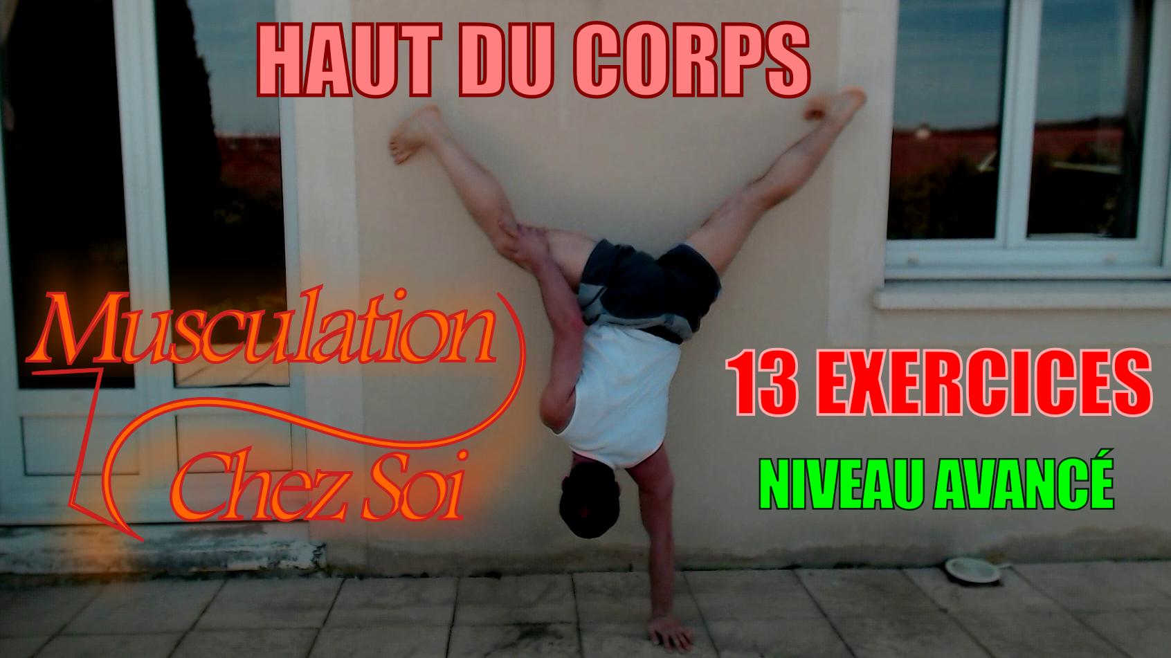 13 exercices de musculation sans matériel du haut du corps