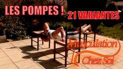 Les pompes: 21 variantes
