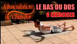 8 exercices pour se muscler le dos