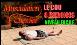 9 exercices pour muscler le cou – 1/2 niveau facile