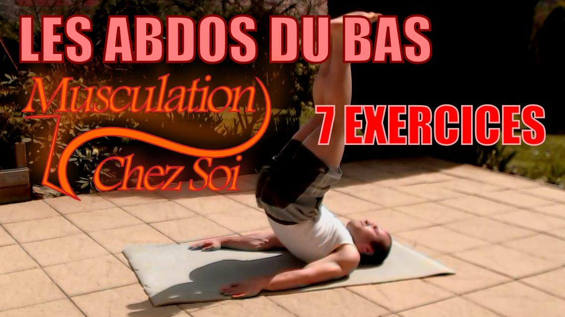 7 exercices pour travailler les abdos du bas