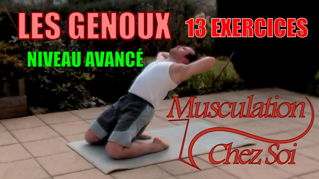 13exercices pour muscler les genoux