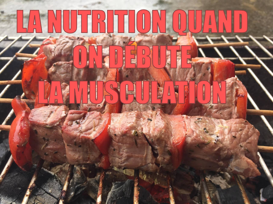 Nutrition et musculation quand on débute