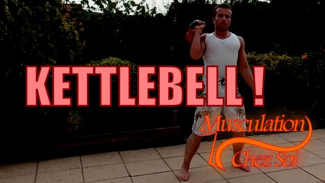 Kettlebell : exercices vidéo pour les bras