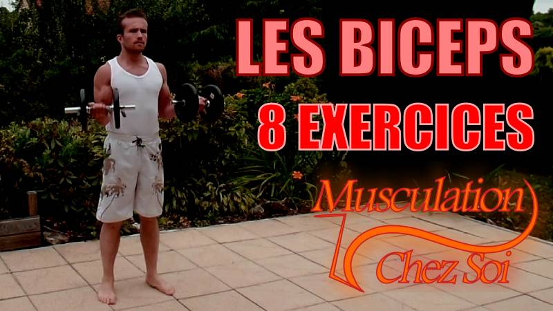 Exercices pour muscler les biceps