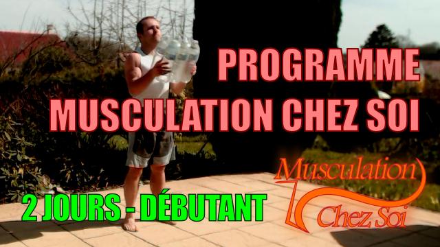 Musculation programme débutant en vidéo
