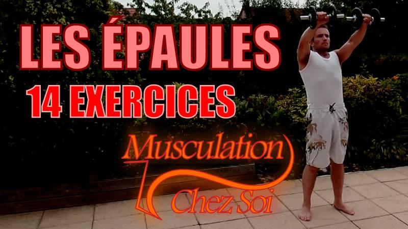 Exercices pour muscler les épaules