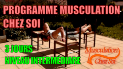 musculation programme musculation chez soi