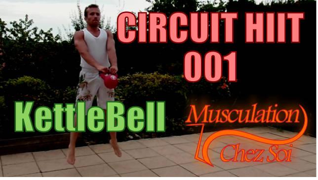 Entrainement kettlebell en circuit