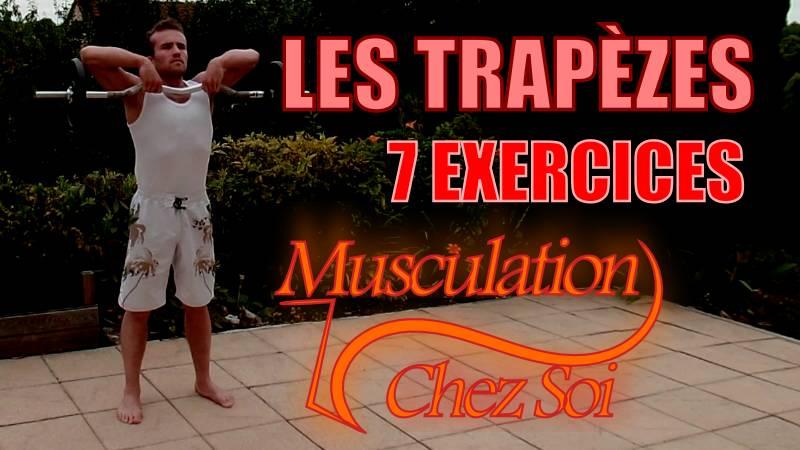 Exercices pour muscler les trapèzes
