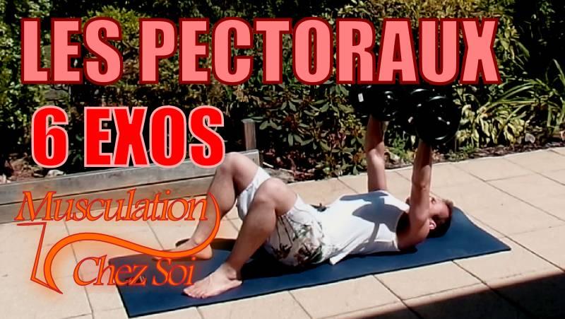 Exercices pour muscler les pectoraux et le torse