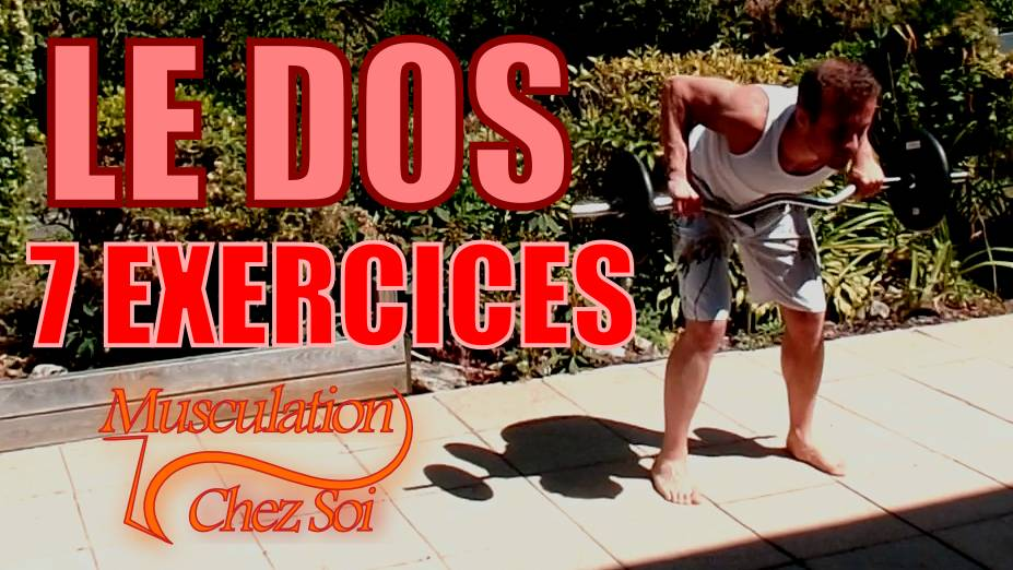 Exercices pour muscler le dos