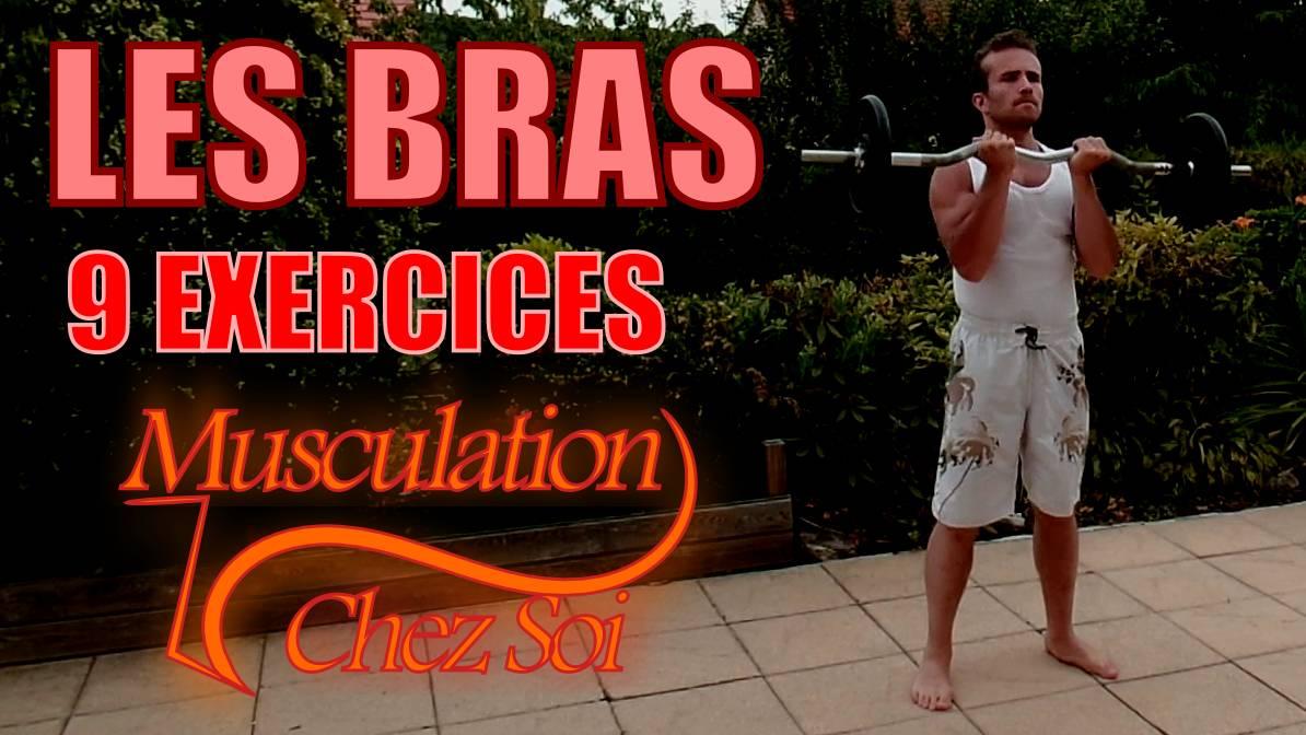 Exercices pour muscler les bras