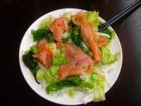 Salade de saumon au Wakamé
