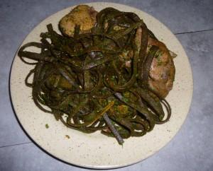 Algues au bœuf bourguignon