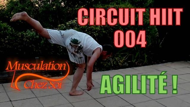 Entraînement agilité en circuit HIIT