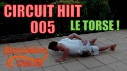Entraînement HIIT haut du corps en circuit training