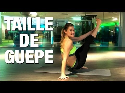 Fitness taille de guepe
