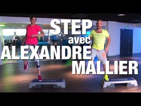 Choregraphie de fitness step